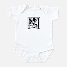 Monogram-MacKenzie htg grn Infant Bodysuit
