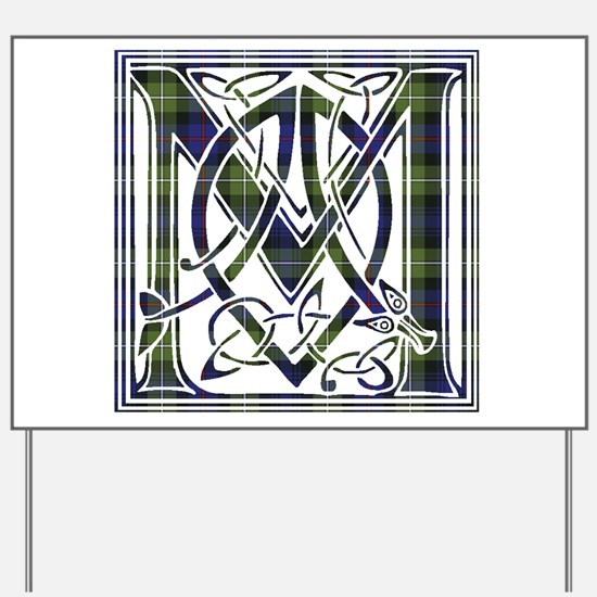 Monogram-MacKenzie htg grn Yard Sign