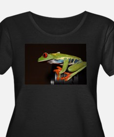 Cute Red eyed tree frog kids T
