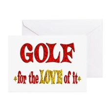 Golf Love Greeting Cards (Pk of 20)