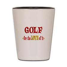 Golf Love Shot Glass