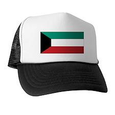 Kuwait Flag Trucker Hat
