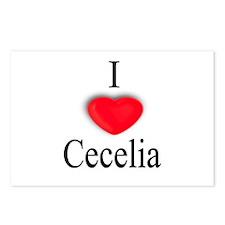 Cecelia Postcards (Package of 8)
