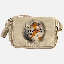 US Girls Soccer Ball Messenger Bag