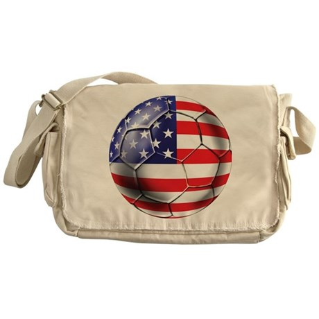 U.S. Soccer Ball Messenger Bag