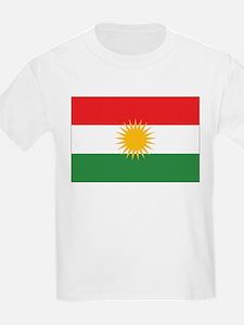 Kurdistan Flag Kids T-Shirt