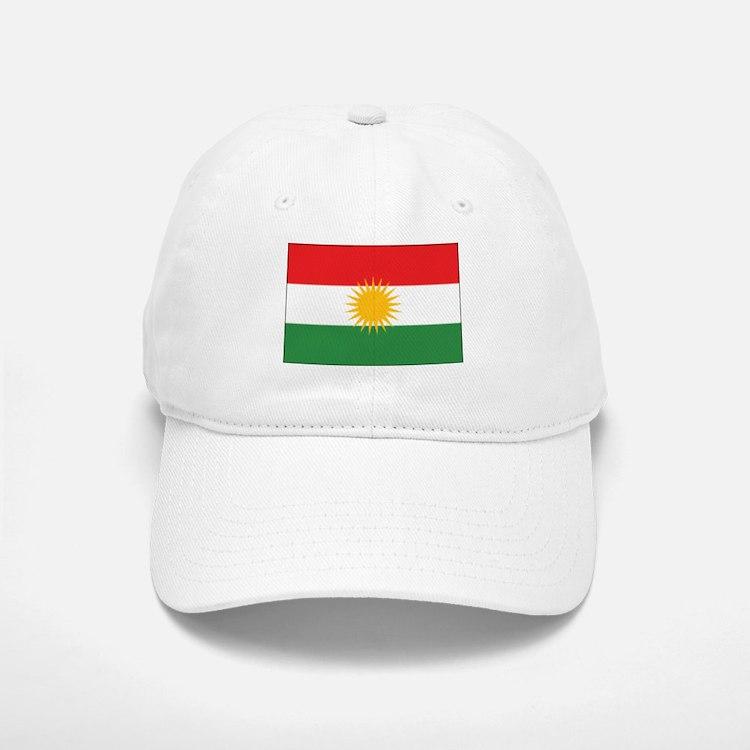 Kurdistan Flag Baseball Baseball Cap