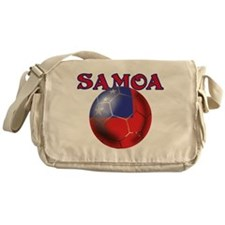 Samoa Football Messenger Bag