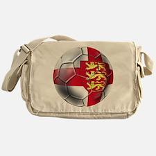 Three Lions Football Messenger Bag