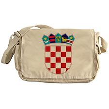 Croatia Hrvatska Emblem Messenger Bag