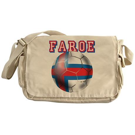 Faroe Islands Football Messenger Bag