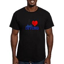 Love (heart) Diving T