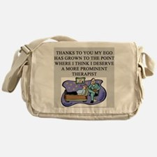 funny psychology psychiatrist Messenger Bag