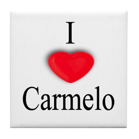Carmelo Tile Coaster