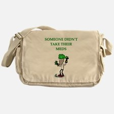 psych patients Messenger Bag