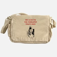psychologist Messenger Bag