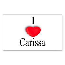Carissa Rectangle Decal