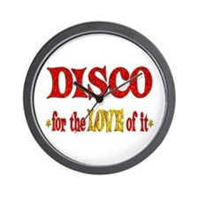 Disco Love Wall Clock