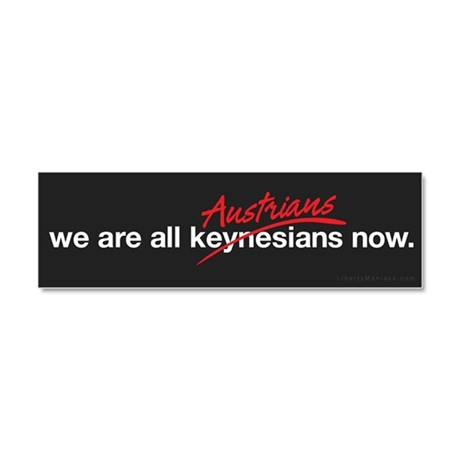 Austrians Now Car Magnet 10 x 3