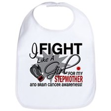 Fight Like A Girl For My Brain Cancer Bib