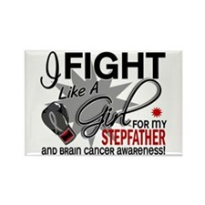 Fight Like A Girl For My Brain Cancer Rectangle Ma