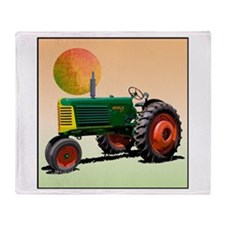 Unique Oliver 77 tractor Throw Blanket