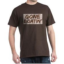 Gone Boatin' (Boating) T-Shirt