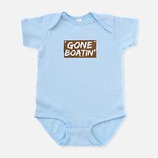 Gone Boatin' (Boating) Infant Bodysuit