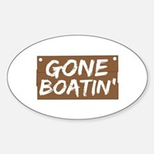 Gone Boatin' (Boating) Decal