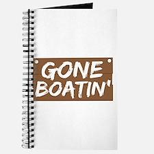 Gone Boatin' (Boating) Journal