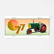 Unique Oliver tractors Aluminum License Plate
