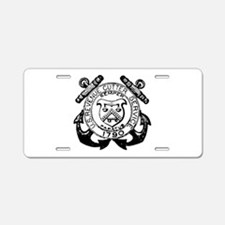 Revenue Cutter Service Aluminum License Plate