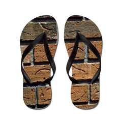 Bricked Out Flip Flops