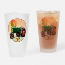 Oliver tractors Drinking Glass