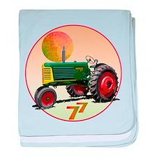 Unique Oliver tractor baby blanket