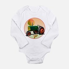 Unique Crop Long Sleeve Infant Bodysuit