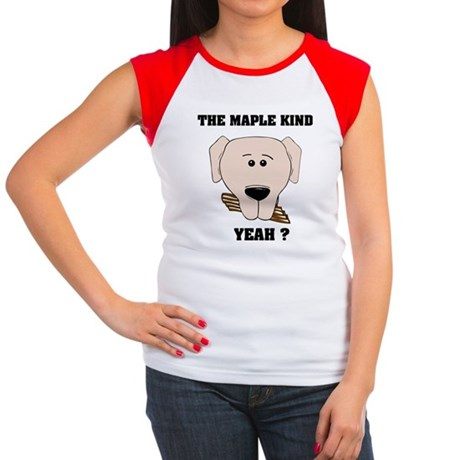 The Maple Kind. Yeah ? Women's Cap Sleeve T-Shirt
