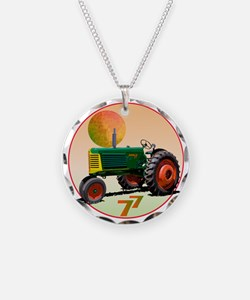 Oliver tractor Necklace