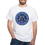 Water Elemental Pentacle White T-Shirt