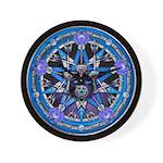 Water Elemental Pentacle Wall Clock