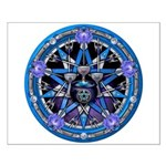 Water Elemental Pentacle Small Poster