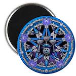 Water Elemental Pentacle Magnet