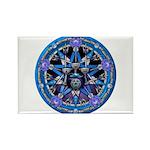 Water Elemental Pentacle Rectangle Magnet (10 pack