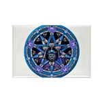 Water Elemental Pentacle Rectangle Magnet (100 pac