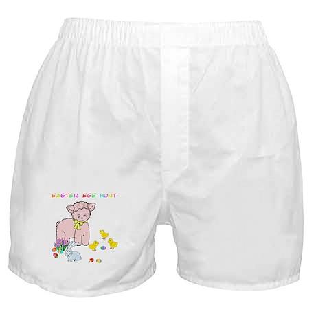 Easter Egg Hunt Boxer Shorts
