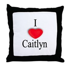 Caitlyn Throw Pillow