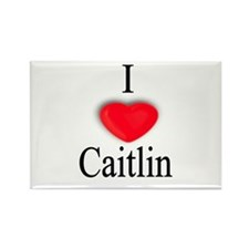 Caitlin Rectangle Magnet