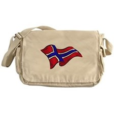 Norwegian flag of Norway Messenger Bag