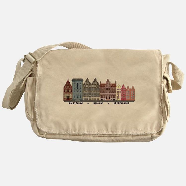 Amsterdam Netherlands Messenger Bag