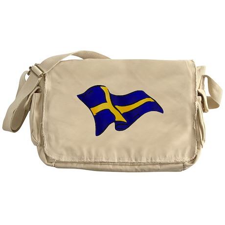 Flag of Sweden Messenger Bag